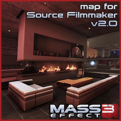 Thumbnail image for ME3 Anderson's Apartment [V2] for SFM