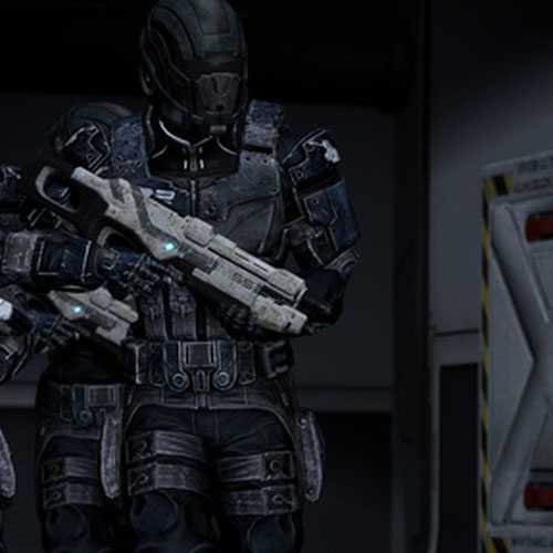 Thumbnail image for Alliance soldiers - Mass effect 3 [Kali]