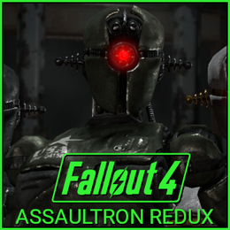 Fallout - Assaultron Redux