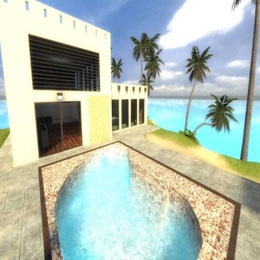STS's Beachhouse Island Map