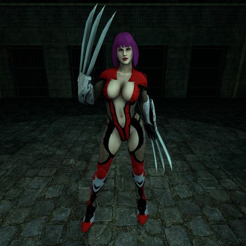 Thumbnail image for Oboro Nude (Taimanin Asagi)