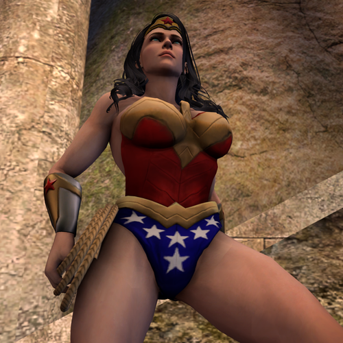 Thumbnail image for Wonder Woman Nude
