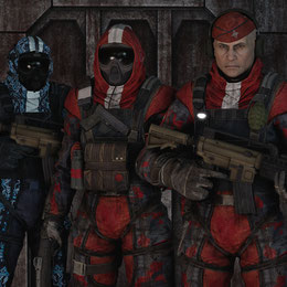 Batman Arkham Knight - Arkham Militia Models
