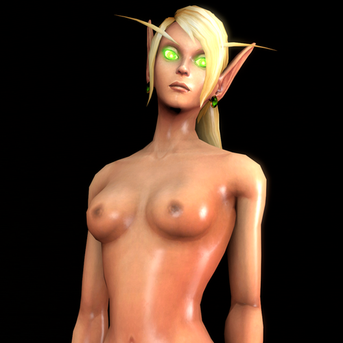 Thumbnail image for World of Warcraft - Female Blood Elf