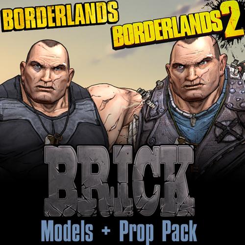 Thumbnail image for Borderlands: Brick (Models + Props Pack)