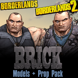 Borderlands: Brick (Models + Props Pack)