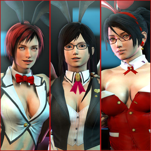Thumbnail image for DoA5 Bunnygirls and Maids