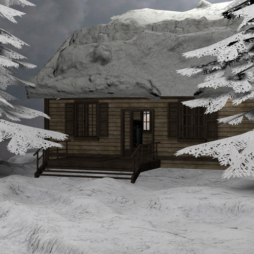 Thumbnail image for snow cabin