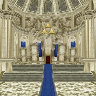 Thumbnail image for Hyrule Castle Throne Room (Twilight Princess)