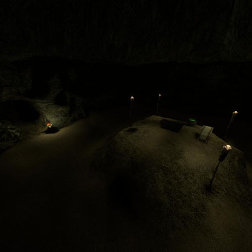 Thumbnail image for Some dumb Cave map with altar
