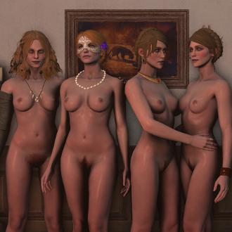 Thumbnail image for The Witcher 3 Nude Character Pack 3