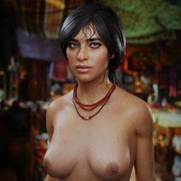 hantzgruber's Chloe Frazer - Uncharted 4