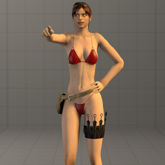 Thumbnail image for Claire Redfield (Fixed)