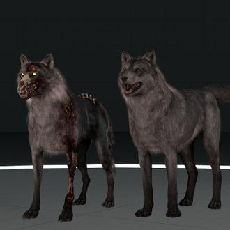 Thumbnail image for Call of Duty: Ghosts Wolf and Hellhound