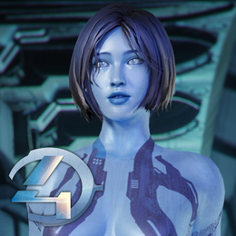 Halo 4 - Cortana (original model)