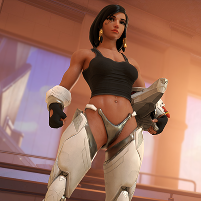 Thumbnail image for [Overwatch] Pharah v2.0 for Blender 2.79