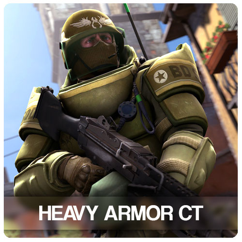 Thumbnail image for CSGO | Heavy Armor CT