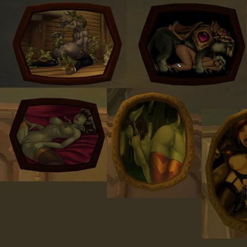 Thumbnail image for WoW Lewd Paintings