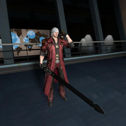 Dante from Devil May Cry 4 Special Edition