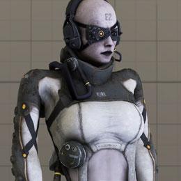 Female Skull Unit - MGSV