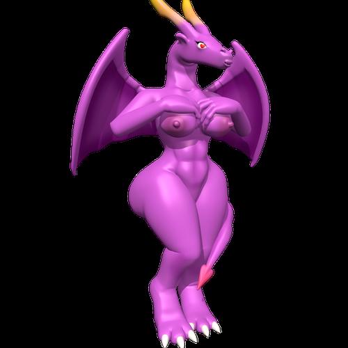 Thumbnail image for Spyro Reignited Trilogy: Female Purple Dragon