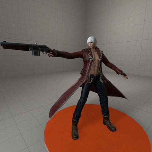 Thumbnail image for Dante (Default) from DMC Pinnacle of Combat