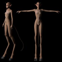 Devil-Girl Character