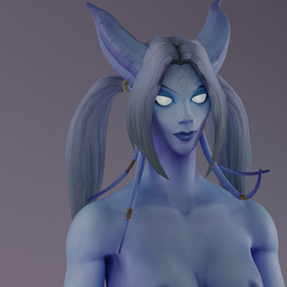 Draenei female