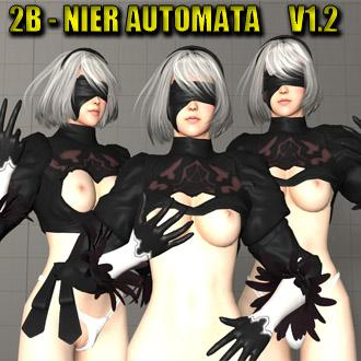Thumbnail image for 2B - Nier Automata NSFM - SFM AND GMOD 1.2