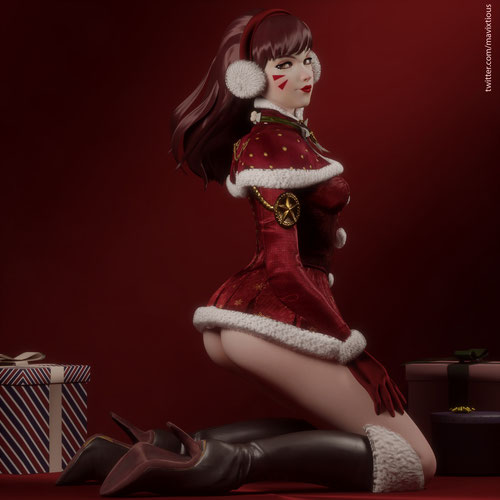 Thumbnail image for D.Va - Sexy Santa