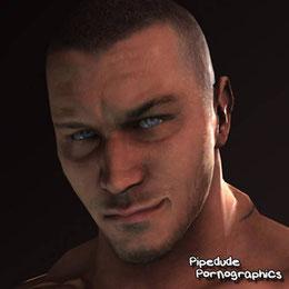 Randy Orton - Blender 2.79