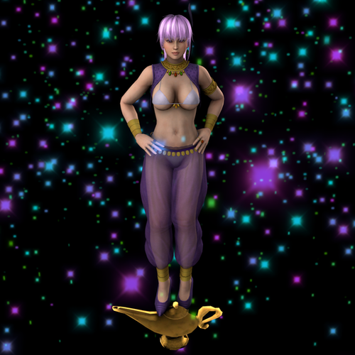 Thumbnail image for Ayane Genie and Lamp