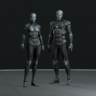 Thumbnail image for Ghost in the Shell FA - Cyborg models