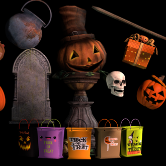 Thumbnail image for Halloween Prop Pack