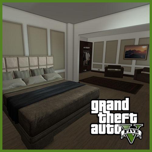 Thumbnail image for Simple bedroom [GTA V Online]