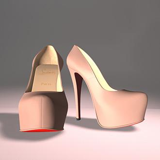 Thumbnail image for Louboutin high heels