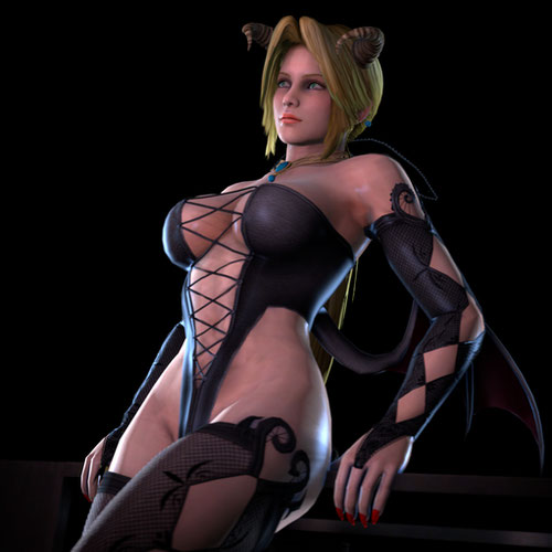 Thumbnail image for DoA5 - Helena Douglas -  Nude + Succubus, Showstopper, Swimsuit outfits