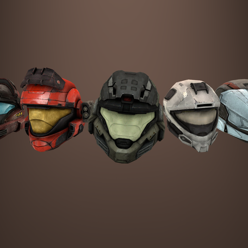 Thumbnail image for Halo: Reach - Helmets