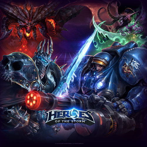 Thumbnail image for Heroes of the Storm pack