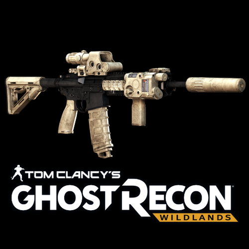 Thumbnail image for Ghost Recon: Wildlands - HK416