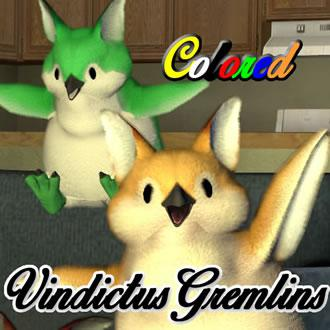 Thumbnail image for Colored Vindictus Gremlin/小鬼+8種顏色  - (新)瑪奇英雄傳