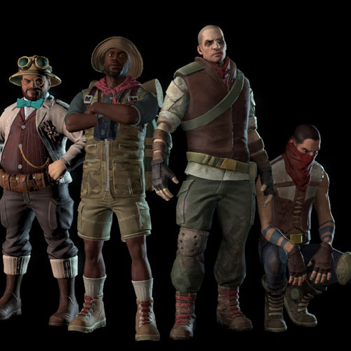 Thumbnail image for Jumanji Characters Pack