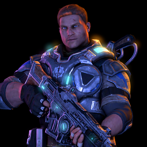 """Thumbnail image for James """"JD"""" Dominic Fenix (Gears of War 4)"""