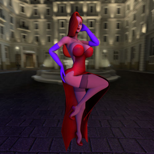 Thumbnail image for Bangfri's Jessica Rabbit (NSFW)