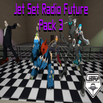 Thumbnail image for Jet Set Radio Future Pack 3