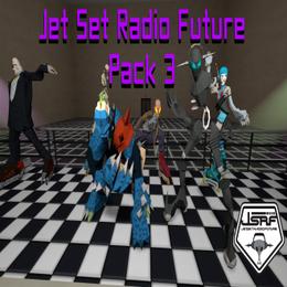 Jet Set Radio Future Pack 3