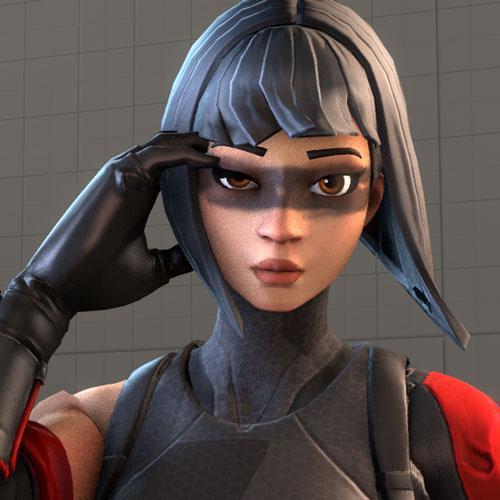 Thumbnail image for [Fortnite] Female Ninja (Shadow Ops)