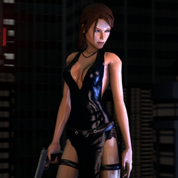 Lara Croft - Ripped Dress (Tomb Raider : Legend)