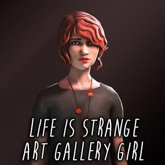 Thumbnail image for Life is Strange - Art Gallery Girl