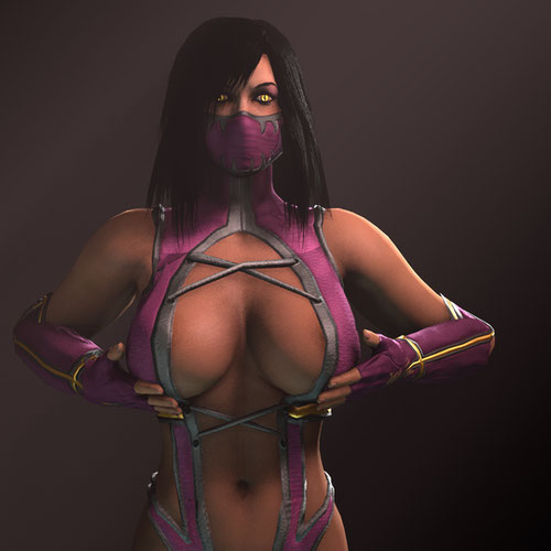 Thumbnail image for MKXMileena In Her MK9 Outfit!